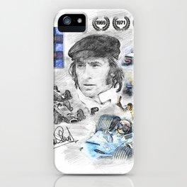 Jackie Stewart, Portrait iPhone Case