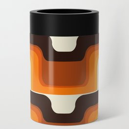 Mid-Century Modern Meets 1970s Orange Can Cooler