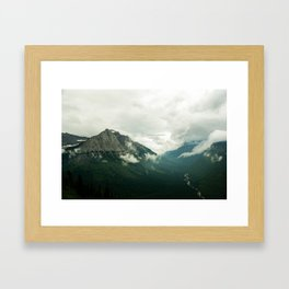 I had a dream I could fly Framed Art Print