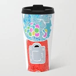 Bubble gum machine. Travel Mug