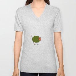 Olive Ewe. Unisex V-Neck