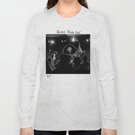 Birds in the Boneyard, Print Seven: Birds Rock Out! Long Sleeve T-shirt