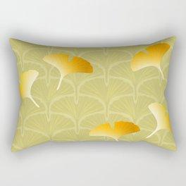 Ginkgo Biloba leaves pattern Rectangular Pillow