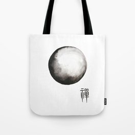 """Zen painting and Chinese calligraphy of """"Zen"""" Tote Bag"""