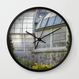 Conservatory in the Morning Wall Clock