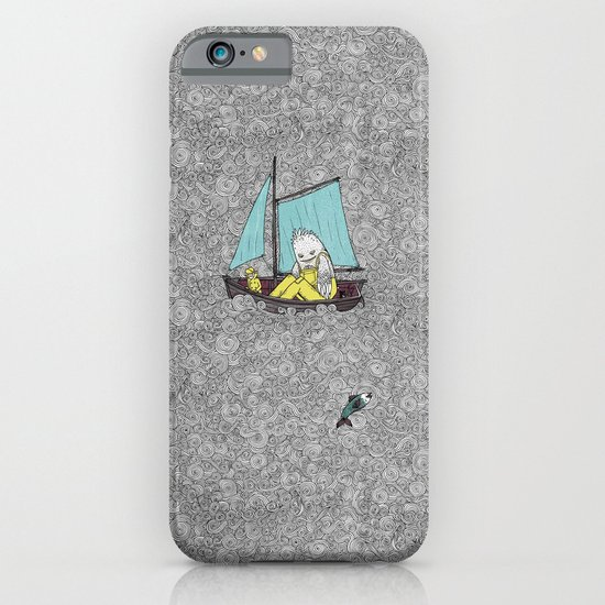 Old Man and the Sea iPhone & iPod Case