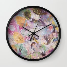 Flower Land Wall Clock