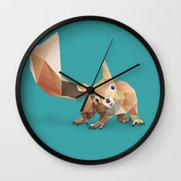 Squirrel. Wall Clock