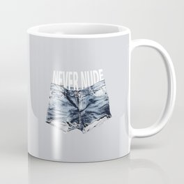 Never Nude Tobias Funke Coffee Mug