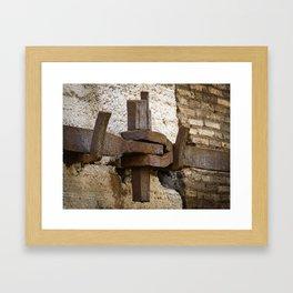 Steel anchor Framed Art Print