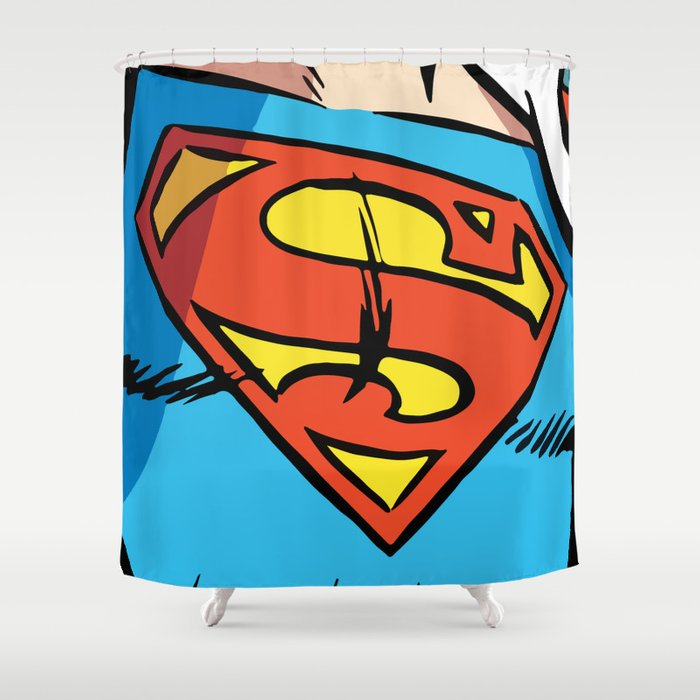 Classic Superman Shower Curtain
