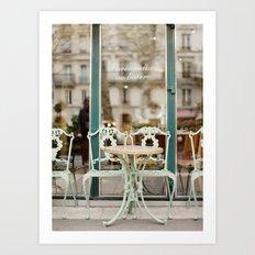 Paris Cafe Art Print