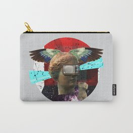 Wonder Wood Dream Mountains - The Demon Cleaner Series · You Got Me Floatin´ · Crop Circle Carry-All Pouch