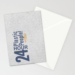24 Hour Plastic People Stationery Cards