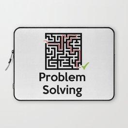 Problem Solving Maze Laptop Sleeve