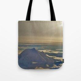 At the Top of Denali Tote Bag