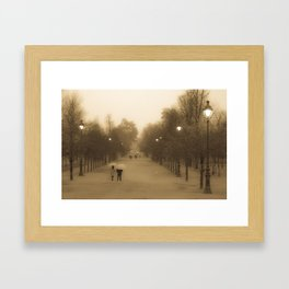 Mist of Paris Framed Art Print