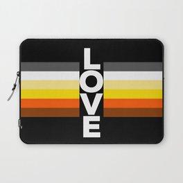 Bear flag love for gay pride  Laptop Sleeve
