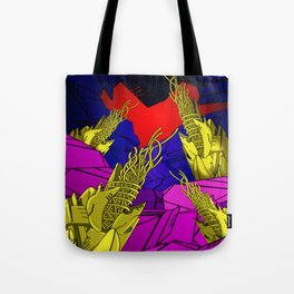 AUTOMATIC WORM 6 Tote Bag