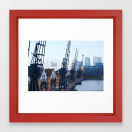 Royal Victoria Dock London Framed Art Print
