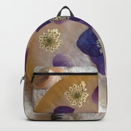 Mother of Pearl Shell Backpack