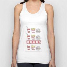 DRUGS Unisex Tank Top