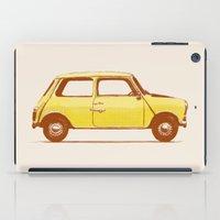 mini cooper iPad Cases featuring Famous Car #1 - Mini Cooper by Florent Bodart / Speakerine