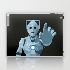 Nightmare in Silver (Cyberman) Laptop & iPad Skin