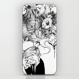 A Heavy Heart iPhone Skin