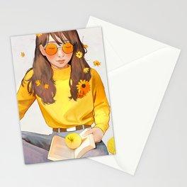- sunlit - Stationery Cards