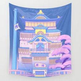 The Bath House Wall Tapestry