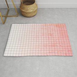 Sweet Pink Geometry Rug