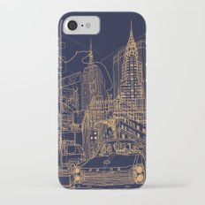 New York! Night iPhone 7 Slim Case