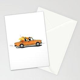 Llama on a Lada Stationery Cards