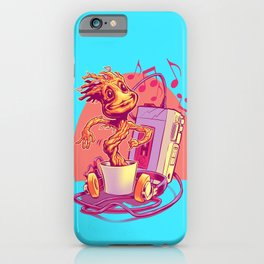 GROOVIN' THROUGH THE GALAXY iPhone Case
