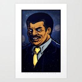 Neil Degrasse Tyson Art Print