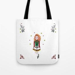 Irish Dancing Girl Tote Bag