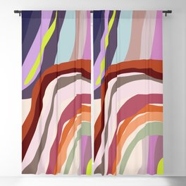 Id, Ego and Superego abstract and colorful Blackout Curtain