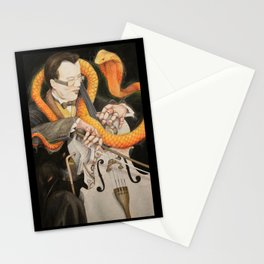 The Puppet and the Rhythm Stationery Cards