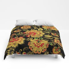 Khokhloma #society6 #buyart #buy #decor Comforters