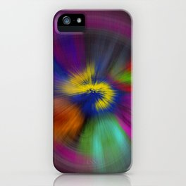 color circulo iPhone Case