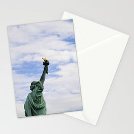 Proud Lady Liberty Stationery Cards