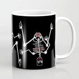White Skeleton Female Coffee Mug