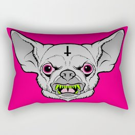 All Bark All Bite Rectangular Pillow