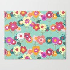 Colourful garden Canvas Print