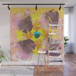 Colorful Abstract pattern design Wall Mural