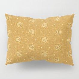Golden Winterstars 1 Pillow Sham