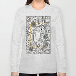 Tree Frog and passion vines Long Sleeve T-shirt