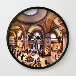 Metropolitan Museum of Art Wall Clock