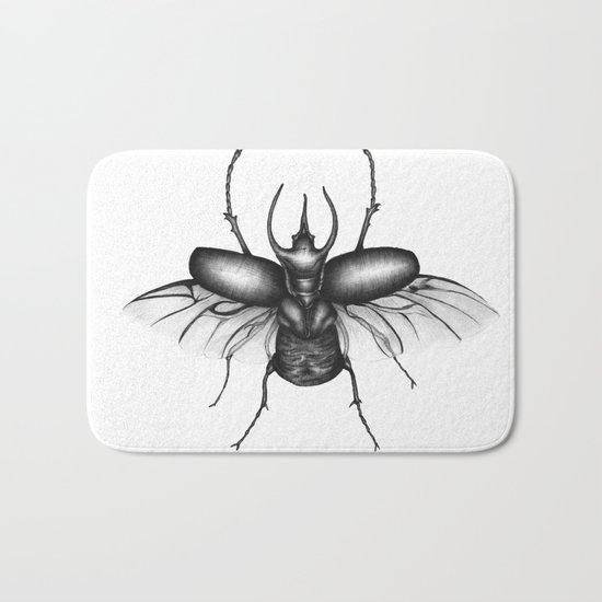 Beetle Wings Bath Mat